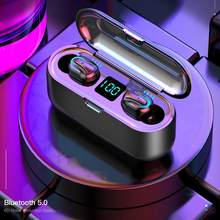 TWS Headset Ture Wireless Earphones HBQ Q32 Bluetooth 5.0 Headset With Mic Mini Earbud Earphone For Xiaomi Samsung Smartphone(China)
