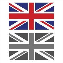 English Flag Car Sticker Suitable for Computer Sticker Trolley Case Wall Bumper Sticker Waterproof