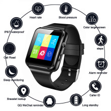 X6 Smart Watch Women With Camera Support SIM TF Card Touch Screen Alarm Clock Sleep Monitoring Sport Watch For Kid Men Women(China)