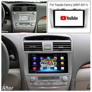 Image 4 - CaiXi 2din 9 인치 2.5D 안드로이드 9.0 자동차 DVD 라디오 멀티미디어 플레이어 도요타 캠리 2007 2008 2009 2010 2011 네비게이션 gps