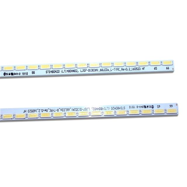 Светодиодные ленты для подсветки samsung sts480a20 2 шт х 48