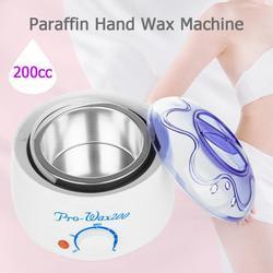 Podgrzewacz do wosku i parafiny 200cc mini podgrzewacz wosku stóp Mini SPA maszyna ręczna do depilacji ciała do włosów narzędzie do usuwania|Podgrzewacze do wosku|   -