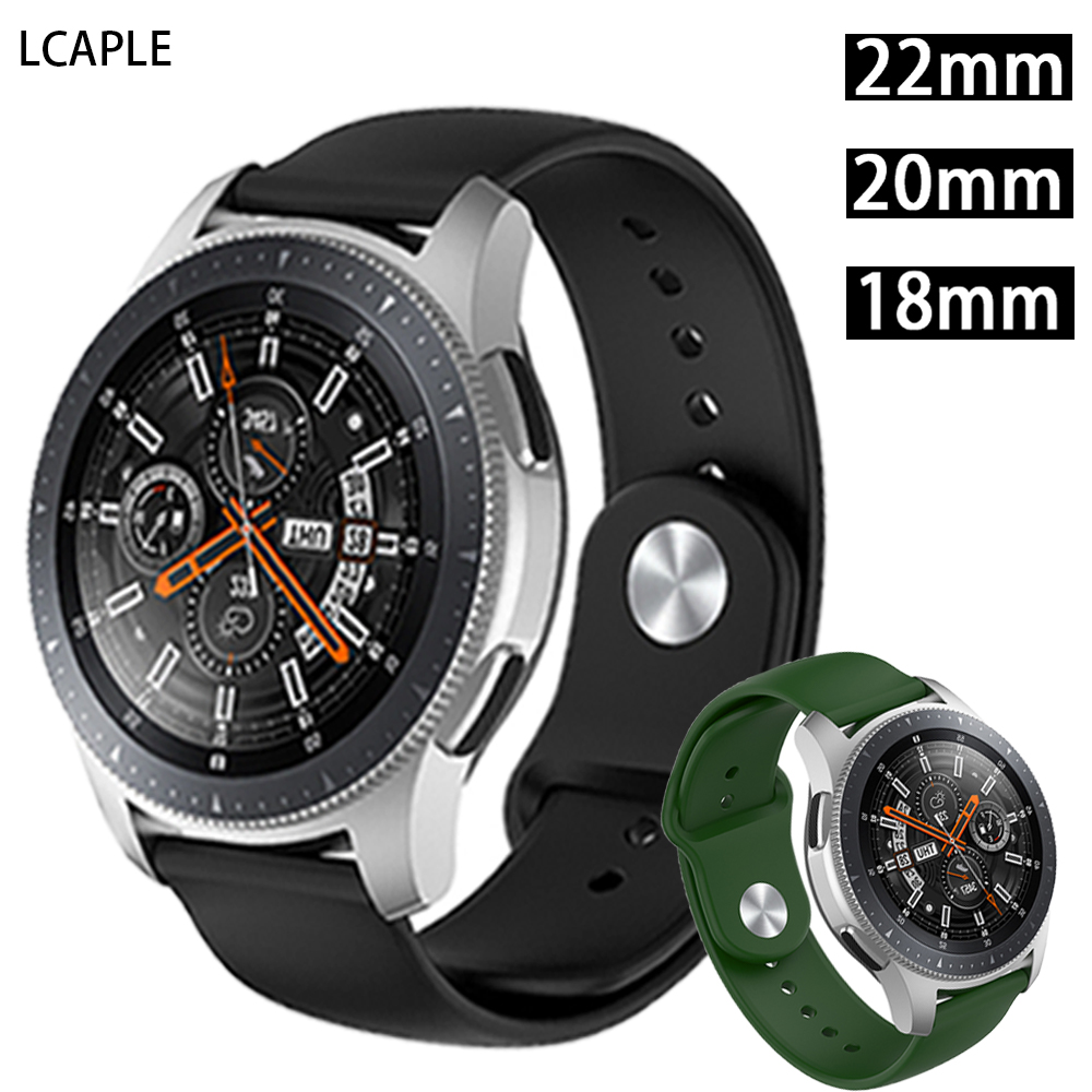 20mm 18mm 22mm watch band For Huawei watch gt 2 strap samsung galaxy watch 46mm 42mm active 2 sport gear s3 frontier accessories