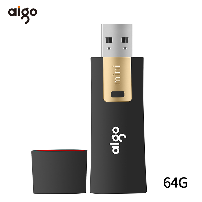 Aigo Anti-virus Pendrive 3.0 Memoria Usb 64GB Cle Usb Write Protection Usb 3.0 Pen Drive Data Lock Usb Flash Drive Chiavetta Usb