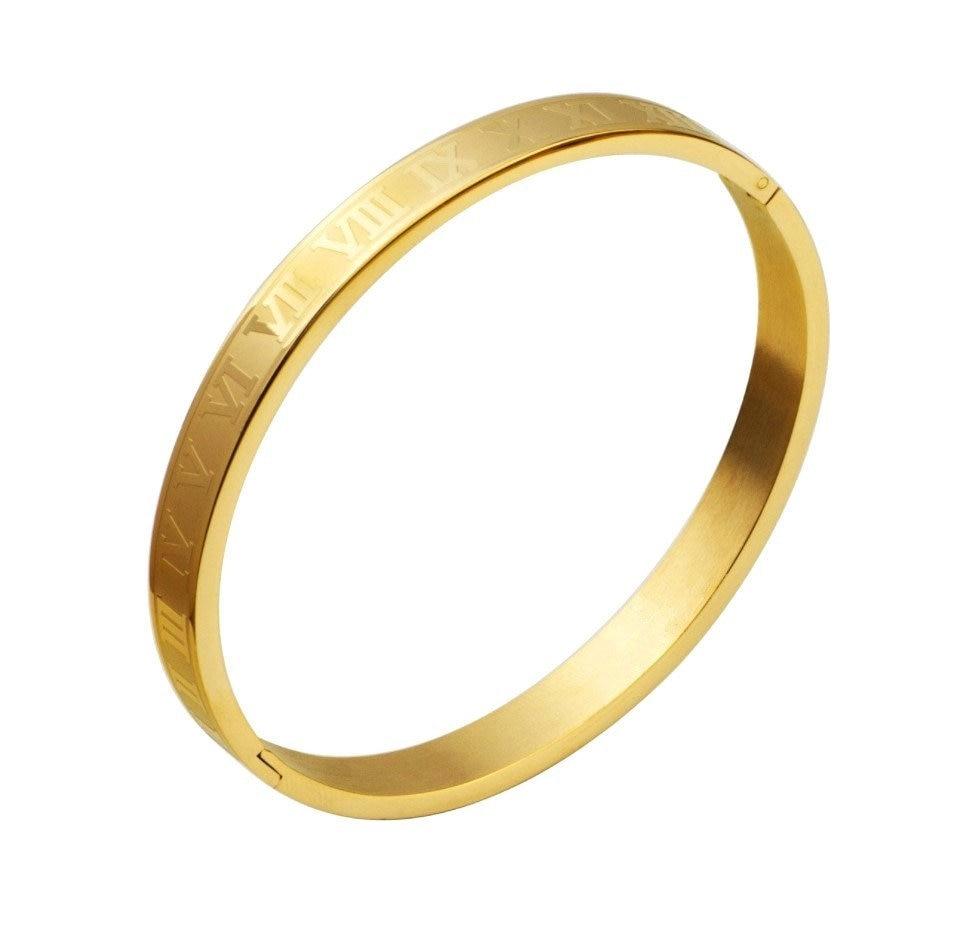 Gold number18-19CM