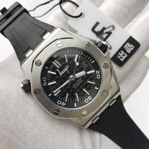 U1 Factory Luxury Brand men watch black strap automatic self-wind Luminous top quality royal-oaks watches AAA+ 1:1