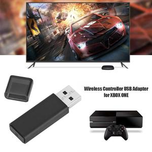 Image 1 - For Windows 10 Only New Poratble Wireless Gamepad USB Adapter Receiver Game Accessories for Microsoft Xbox One 2nd Generation