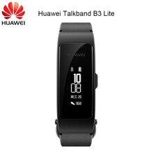 מקורי Huawei Talkband B3 לייט חכם צמיד Bluetooth אוזניות לענות/סיום שיחה Run Walk שינה אוטומטי מסלול מעורר הודעה