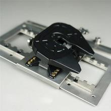 Metal Saddle Plate Model Grinding Base for 1:14 Tamiya Trucks DIY RC Car Modeling Accessories Kit