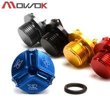 GSX-R M20 * 1.5 Para SUZUKI 125 600 750 1000 1100 1300 GSX250R 1000R peças Da Motocicleta CNC Motor Oil Filler pac Plug