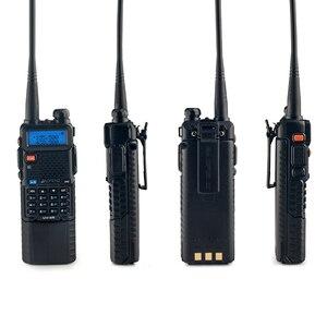 Image 3 - Baofeng UV 5R 3800mAh ווקי טוקי 5W Dual Band נייד רדיו UHF 400 520MHz VHF 136 174MHz UV 5R שתי דרך רדיו נייד