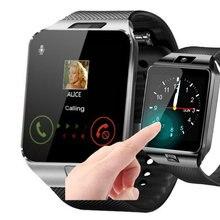 Смарт часы dz09 с поддержкой tf карты и sim смарт для мужчин