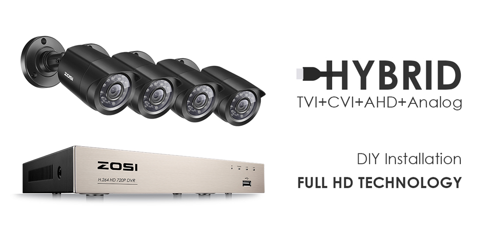 Weatherproof CCTV 720p/1080p Day/Night 1