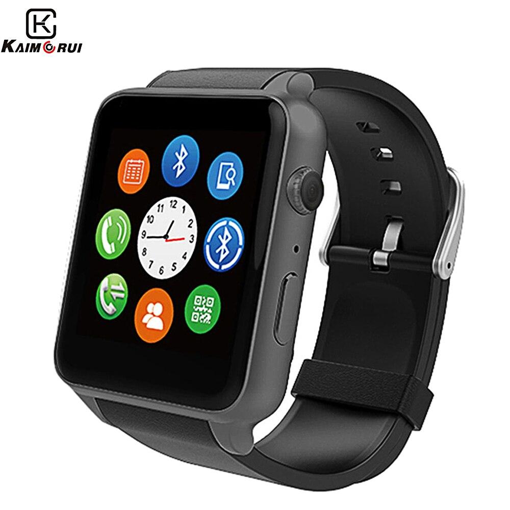 GT88 montre intelligente traqueur de fréquence cardiaque soutien cardiaque SIM TF carte Bluetooth hommes Smartwatch caméra bracelet pour téléphone Android IOS