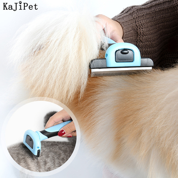 Comb For Dogs Cats Hair Brush Removable Pet Hair Remover Brush Cat Comb Furminator For Dogs Cats Grooming Brush Pet Dog Supplies pet comb cleaning tool lice brush pet supplies cat dog comb hair fur removal brush flea comb dogs cats pet grooming fine toothed