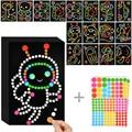 Kinder DIY Dot Puzzle Aufkleber Bunte Dots Niedlichen Cartoon Lern Frühe Bildung Spielzeug Mosaik Aufkleber für Kinder Kinder Geschenke