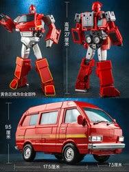WJ Deformation Robot Metal Parts Car Robots Action Figure MPP27 Kids Gifts Transformation 8050
