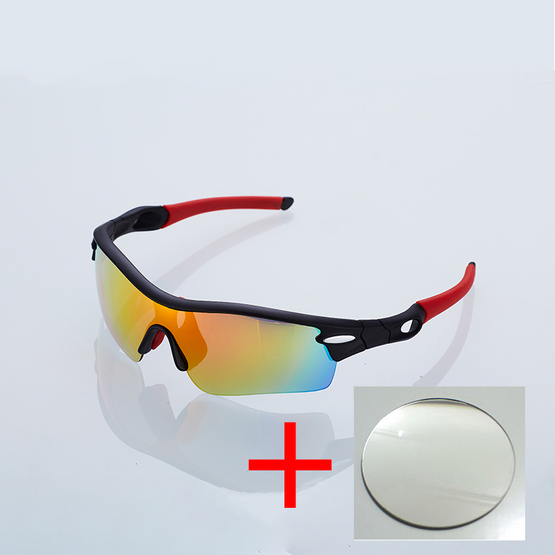 Cycling Polarized  Prescription Sports Sunglasses For Bicycle Goggle Can Put Can Engrave LOGO