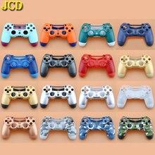 JCD PS4 Pro 하우징 셸 케이스 교체 용 PS4 Slim Dualshock 4 Pro 4.0 V2 Gen 2th 컨트롤러 JDS 040 JDS 040