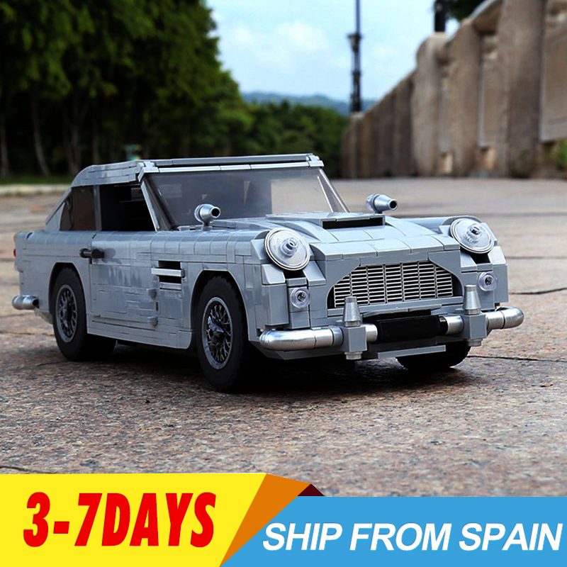 Creator 21046 James Bond Aston Martin DB5 Classic 007 Car Model Technic 10262  Building Blocks Bricks Educational Toys Boy Gift