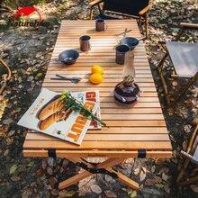 Naturehike деревянный складной стол портативный кемпинг яйцо