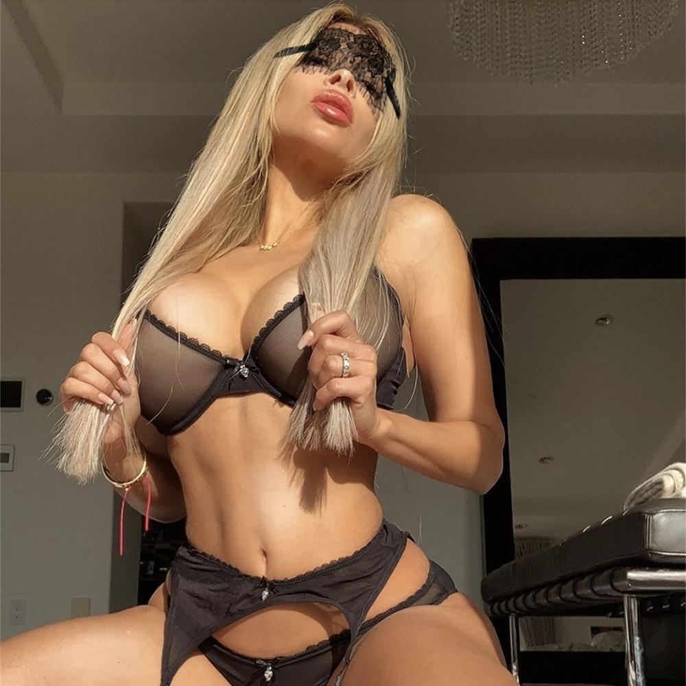 Women Sexy See Through Bra Top Lingerie Ladies Lace underwire underwear 1Pcs/Lot CYHWR