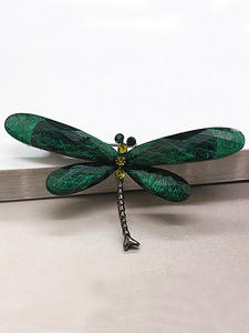 Dragonfly Brooches Jewelry Insect-Animal-Brooch JUJIE Vintage Fashion Women for Pin-Series