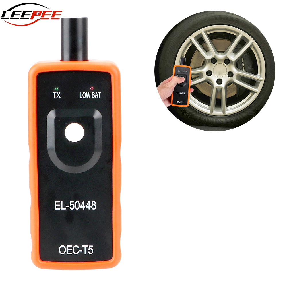 LEEPEE Car TPMS For Opel G M OEC-T5 EL 50448 EL50448 Test Tool Auto Tire Pressure Monitoring System TPMS Reset Tool Accessories