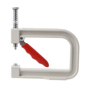 Image 5 - Máquina de rebordear Manual, tapa de ropa, remache de cuentas de perlas, artesanía para la reparación DIY, herramientas para el cabello, sombrero de punto de encaje