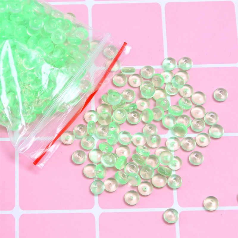 สีสันลูกปัด Charms สำหรับ Slime อุปกรณ์เพิ่มเติมสำหรับถังปลาอุปกรณ์เสริมเมือก DIY Slime FILLER ของเล่นเด็ก
