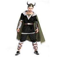 Fashion 2019 New Style Adult Mens Roman Male Gladiator Costume Sexy Medieval Warrior Costume Halloween Party Cosplay Clothing