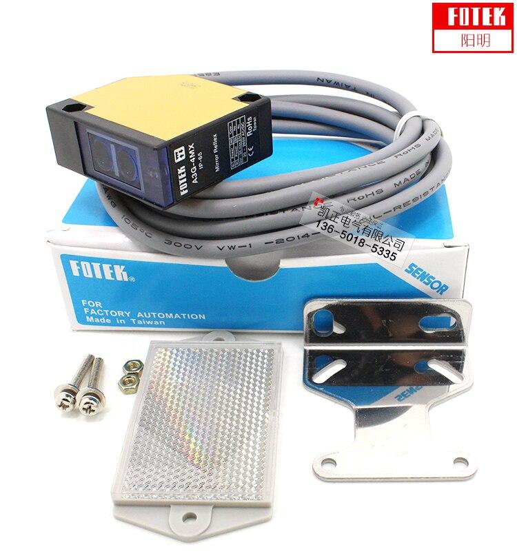 Оригинальный светоотражающий фотоэлектрический переключатель для объектива FOTEK, фотоэлектрический переключатель, Индукционное расстояни...