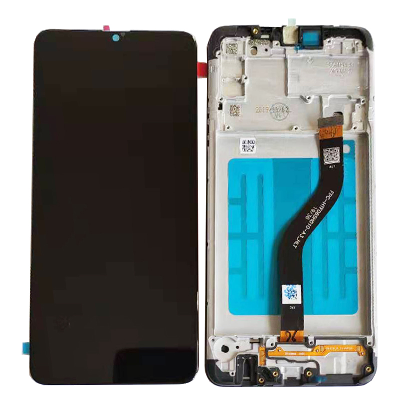 6.5 Original For Samsung Galaxy A20S A207 A2070 A2070 SM A207F A207F LCD Display Touch Screen Glass Sensor With/No Frame + Kits - 6