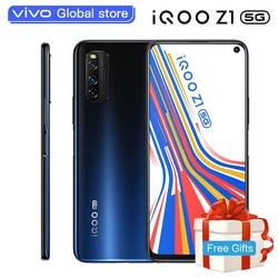 Original vivo iQOO Z1 5G 6GB 128GB MediaTek 1000 Plus Mobile Phone Celular 4500mAh 44W Charging 144Hz Refresh Rate Cell phone