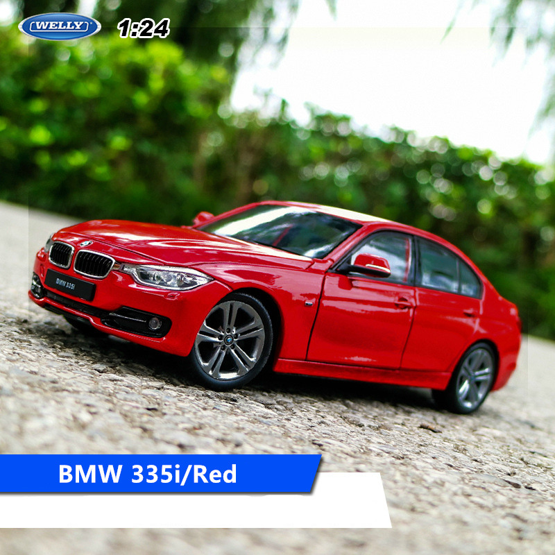 WELLY 1:24 BMW 335i   Car Alloy Car Model Simulation Car Decoration Collection Gift Toy Die Casting Model Boy