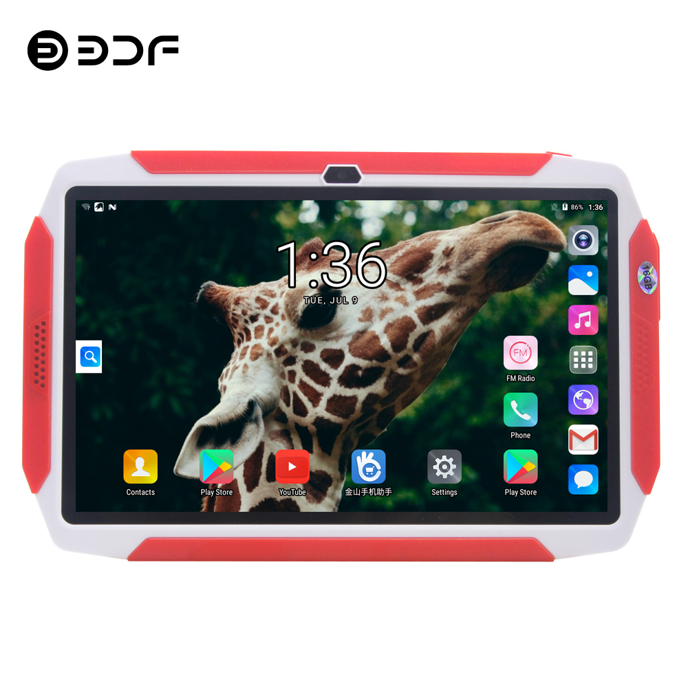 BDF Cheap Tablet 7 Inch Android 8.0 Tablet Pc Dual Camera 1GB/16GB Quad Core Mini Computer Tablet Bluetooth WiFi Tablet 7 8 9 10