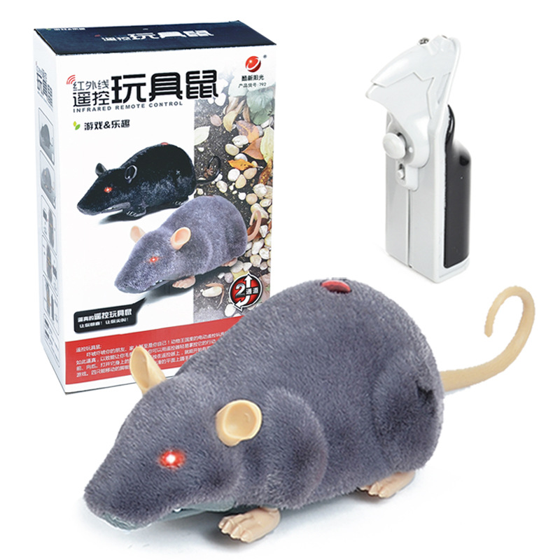 Infrared Remote Control Mouse Electric Simulated Animal Trick Scary Rat Spoof Strange New Toy Wholesale