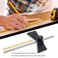 Woodworking Marking Center Finder Adjustable Marker Gauge Line Scriber
