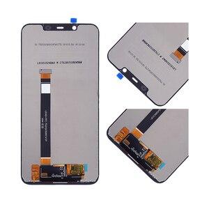 Image 3 - NOKIA 8.1 için orijinal LCD dokunmatik ekran Digitizer meclisi Nokia 8.1 ekran için çerçeve değiştirme ile TA 1119 TA 1121 TA 1128