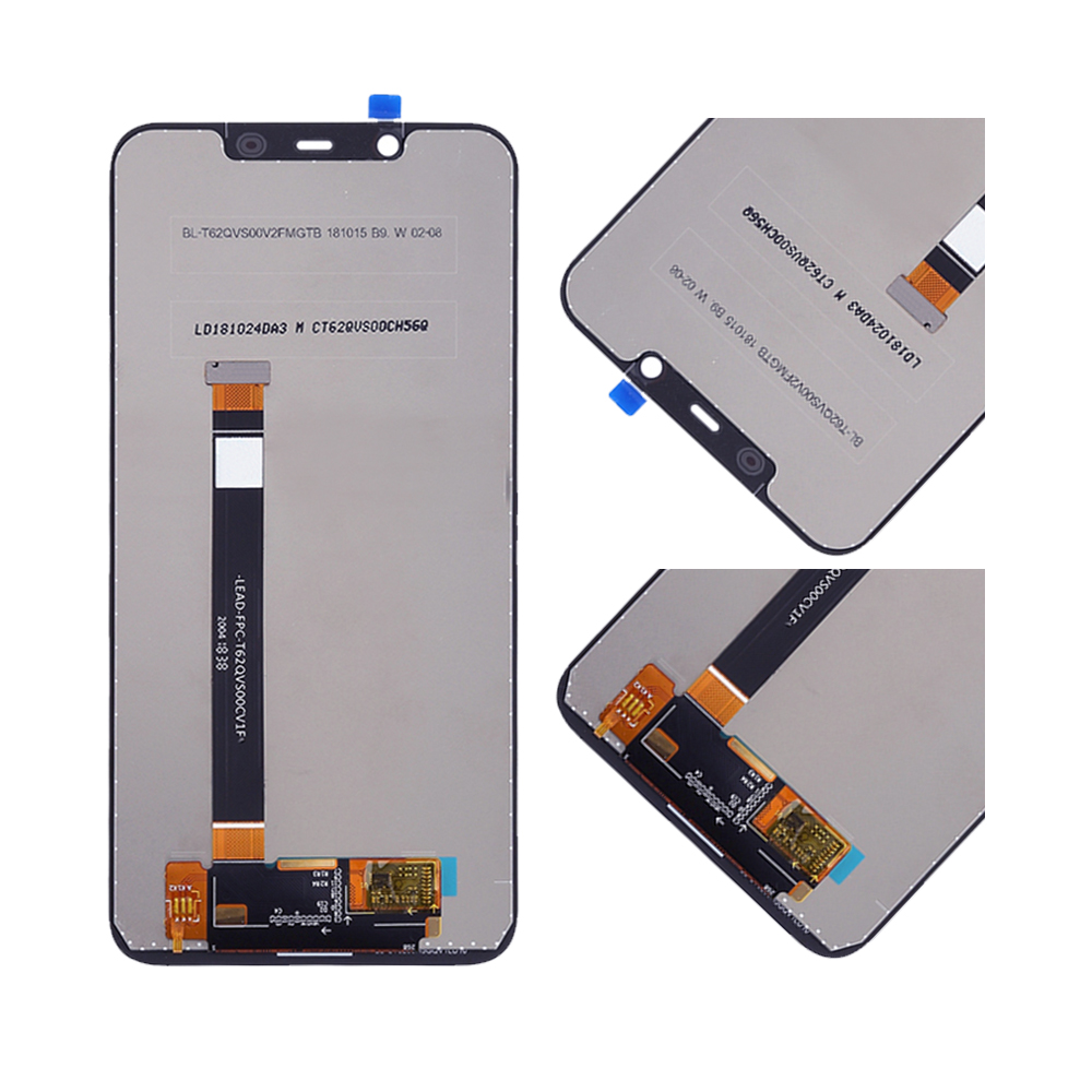 Image 3 - ORIGINAL For NOKIA 8.1 LCD Touch Screen Digitizer Assembly For Nokia 8.1 Display with Frame Replacement TA 1119 TA 1121TA 1128Mobile Phone LCD Screens   -