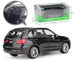Image 4 - WELLY Coche de juguete fundido a presión a escala 1:24, BMW X5, modelo de simulación clásica, SUV, coche de juguete de aleación de Metal para niños, colección de regalos