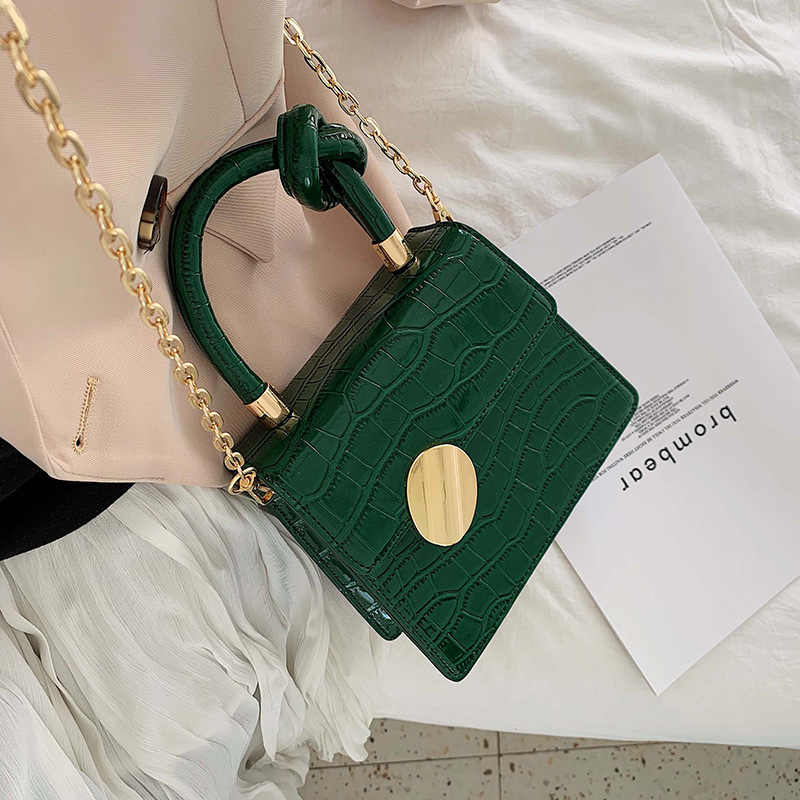 torebki damskie Wzorek z aligatorem skórzana torebka damska torebka projektant luksusowa marka damska torebka mała torebka damska