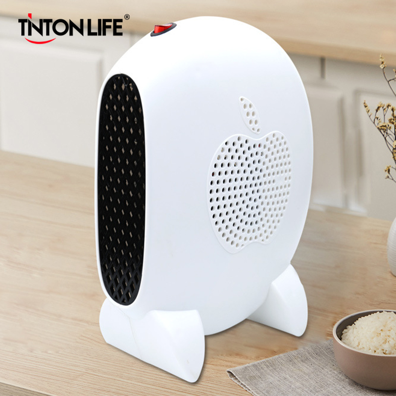220V Mini Home Heater Infrared 500W Portable Electric Air Heater Warm Fan Desktop Space Heater For Winter Household Bathroom