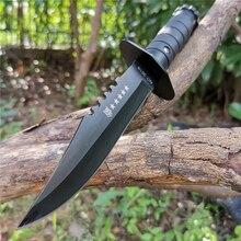 Bıçak EDC aracı yüksek kaliteli 8CR13MOV kurtarma bıçağı vahşi taktik bıçaklar için iyi avcılık kamp Survival açık günlük taşıma