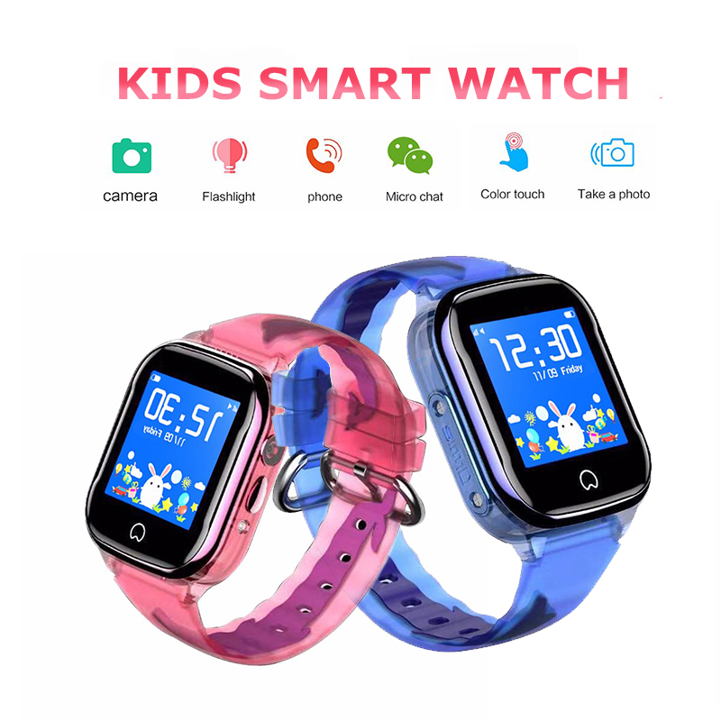 Kids Smart Watch Phone IP67 Waterproof SOS GPS Smartwatch Children Touch Screen LBS Locating SIM Card Wristwatch For IOS Android