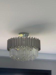 Image 5 - Phube роскошный светодиодный потолочный светильник для спальни