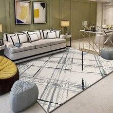 Multiple Sizes Geometric Living Room Carpet Area Floor Mat Non slip Decorative Rug Bedroom Study Rugs Modern Carpets Kitchen Mat