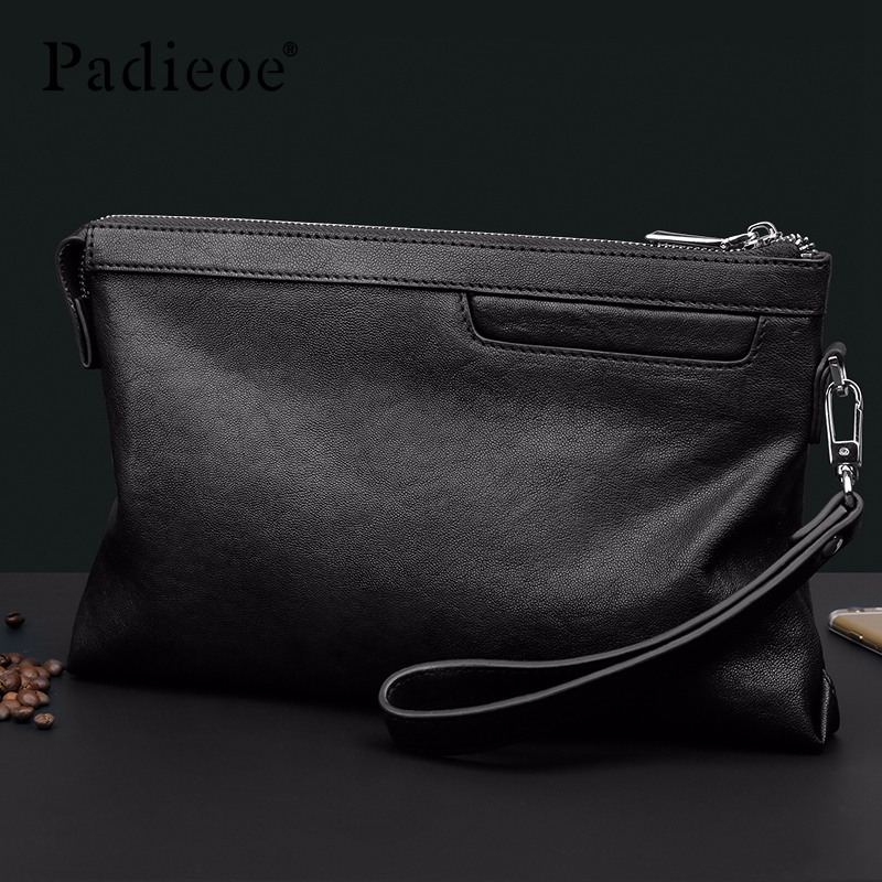 Padieoe men wallets purses luxury money bag clutch fashion Simple - 4