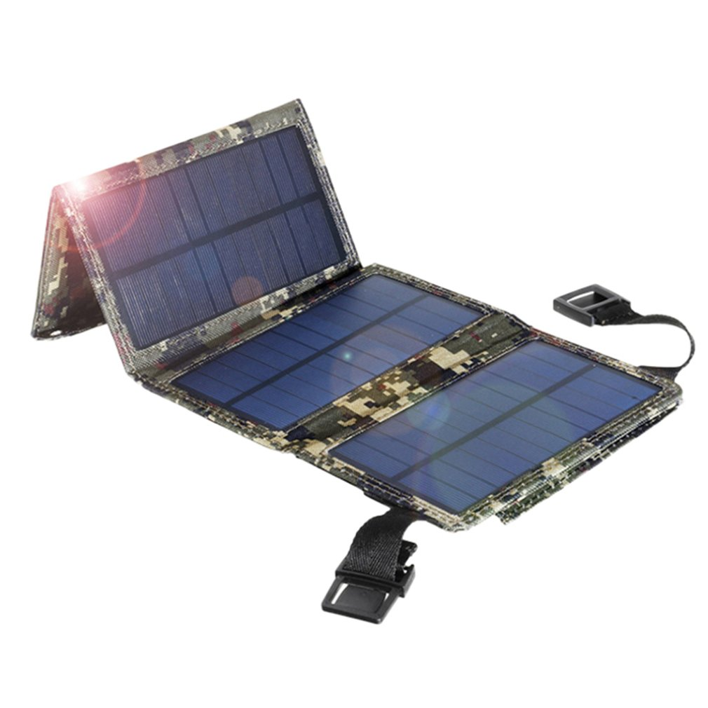 Outdoor Foldable 10w usb high efficiency solar panel portable folding waterproof solar panel charger Chargers    - AliExpress