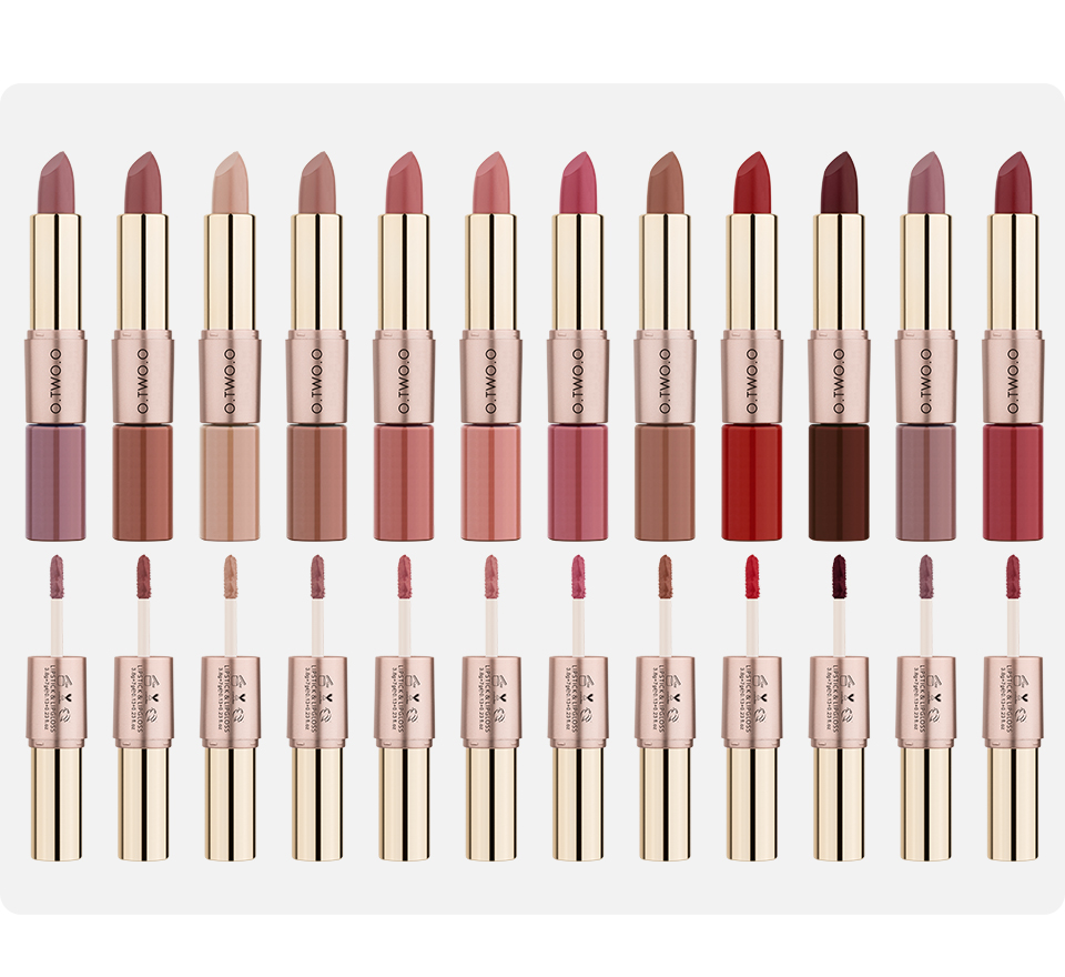 Choose your lipstick & lipgloss color